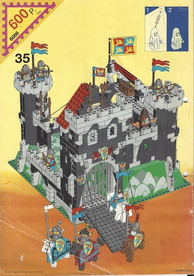 Lego-Set 6086-Castle Black Knights Castle
