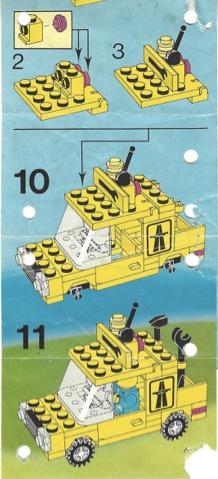 Lego-Autobahnmeisterei-Fahrzeug