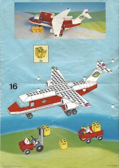 Lego-Transport-Flugzeug