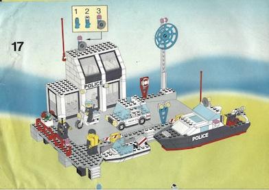 Wasserschutzpolizei: Lego sortieren