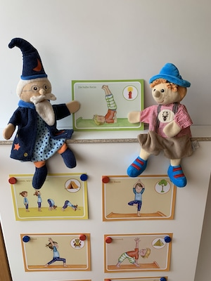 Bildkarten-Kinderyoga