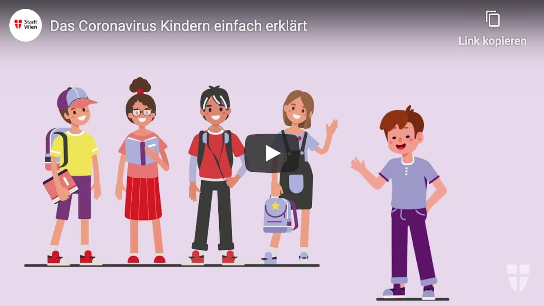 Erklärvideo über Coronavirus für Kinder