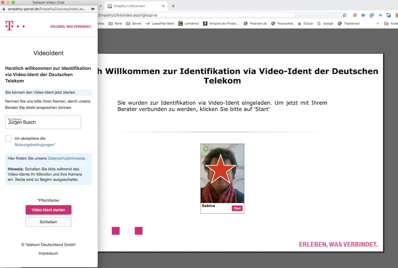 Video-Identverfahren für das Smartphone von Opa