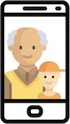 WhatsApp-Gruppe für Opa und Enkel Themen