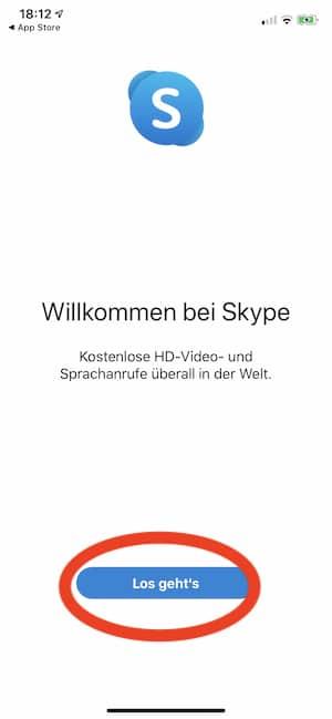Willkommen auf Skype
