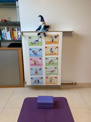 virtuelles Kinderyoga mit 10 Übungen