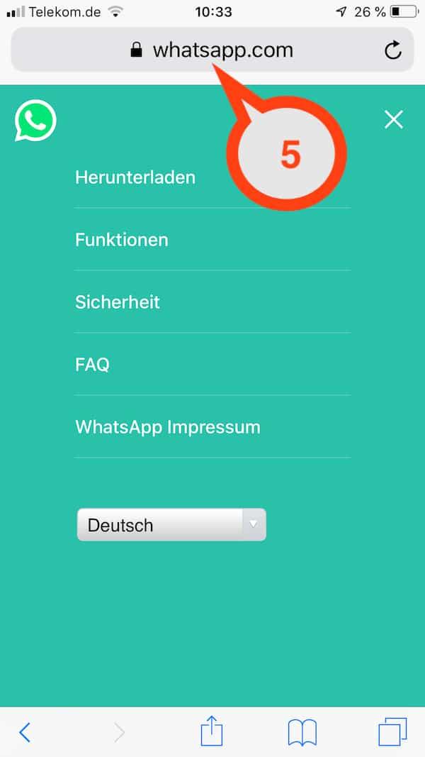 WhatsApp und rechtliche Hinweise sowie Datenschutz