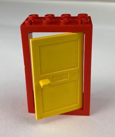 Lego-Haustür