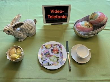 virtuelles Ostern mit der Familie über Skype