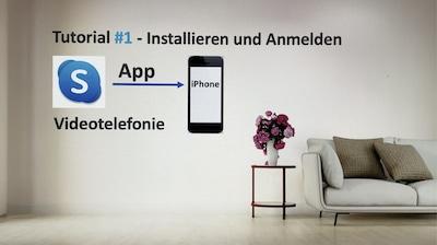 Skype-Tutorial um die App zu installieren