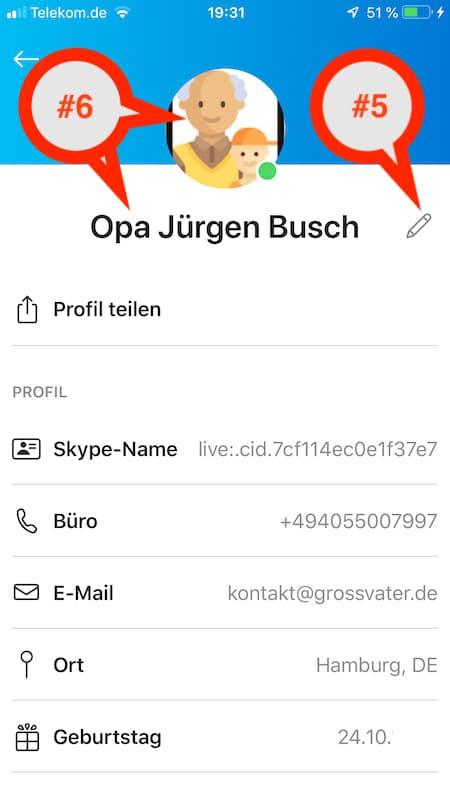 wie kannst du dein Skype-Profil und Benutzername ändern?