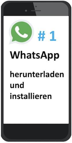 WhatsApp-Tutorial herunterladen und installieren