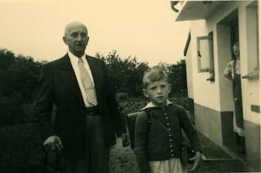 Bilder aus der Kindheit mit Opa