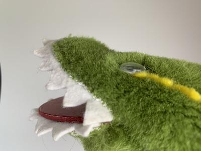 Handpuppe das Krokodil-Baby