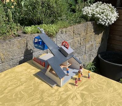 Talstation der Playmobil-Seilbahn