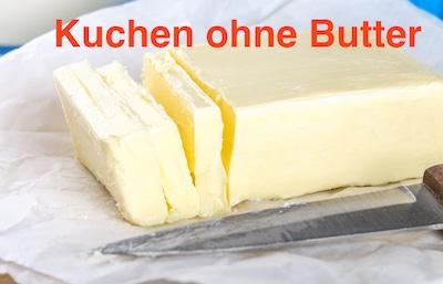 Kuchen ohne Butter backen