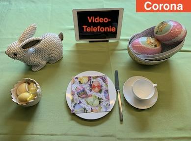 Ostern mit der familie und Skype