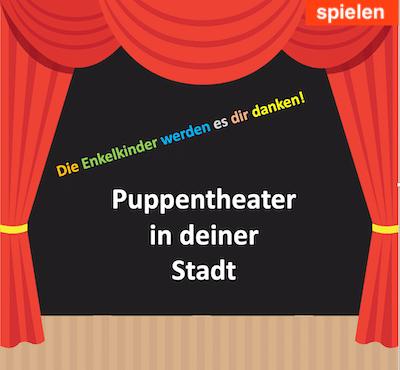 Puppentheater-Verzeichnis-Stadt