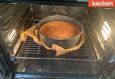 Rezept für einen gesunden Kuchen