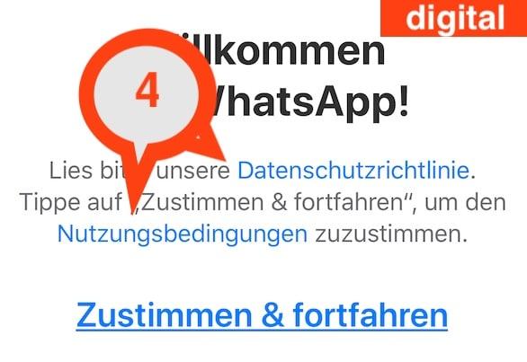 WhatsApp einrichten und nutzen