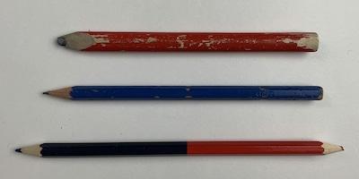 Bleistift und Zimmermannsbleistift