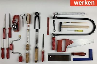 werken mit Werkzeugen für Kinder