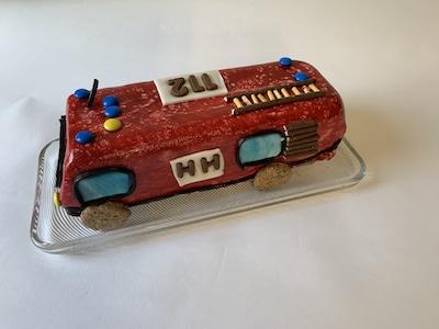 Geburtstagskuchen Feuerwehrauto