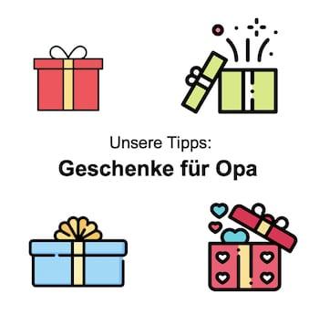 Geschenke für Opa