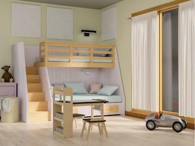 Kinderzimmer für den Enkel