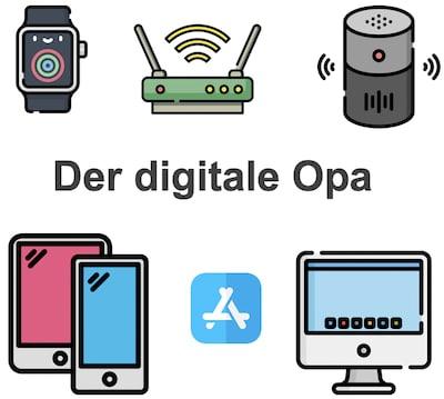 der digitale Opa