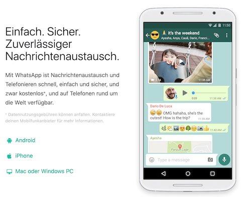 Whatsapp - Senioren-Wissen