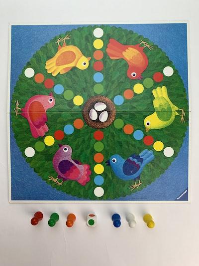 Brettspiel Vogelspiel