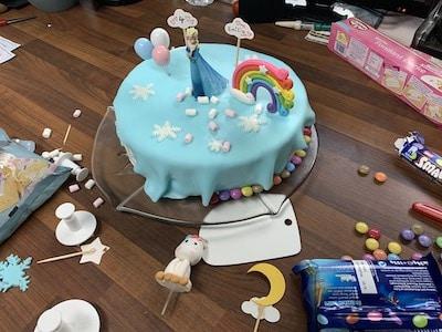Else-Torte mit Dekoration
