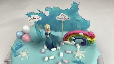 Elsa-Torte zum Geburtstag