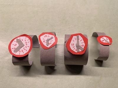 Armbanduhr aus Klorolle als Geschenk