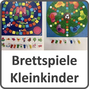 Brettspiele für Kleinkinder