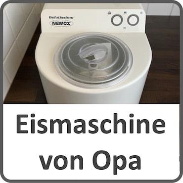 Eismaschine von Opa