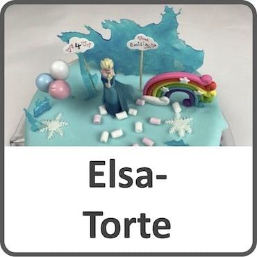 Elsa-Torte backen