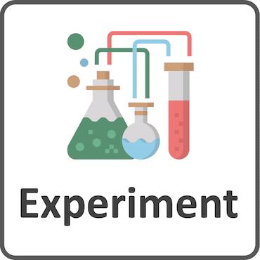 Experimentieren Kategorie