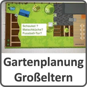 Gartenplanung der Großeltern
