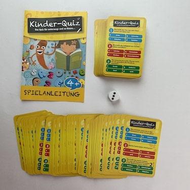 Kinder-Quiz-Spielvorbereitung