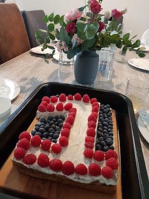 Kuchen zum 1. Geburtstag