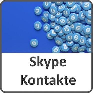 Skype-Kontakte finden