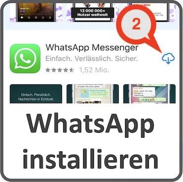 Whatsapp installieren