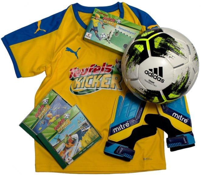 Fuassball-Gewinnspiel Teufelskicker