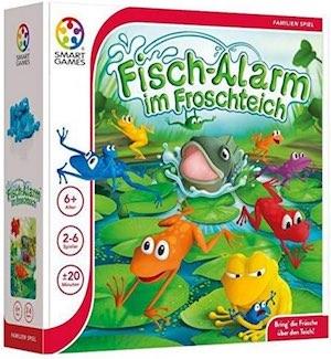 Kinderspiel: Fischalarm im Froschteich