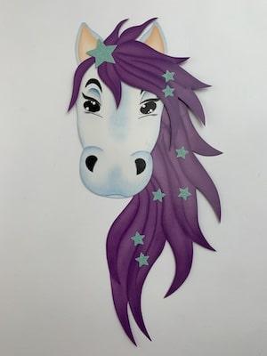 Pegasus-Kopf der Laterne