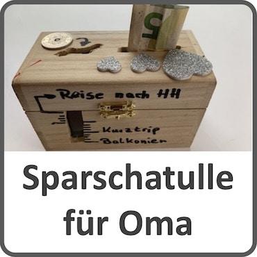 Spar-Schatulle für Oma