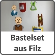 Bastelsetz aus Filz