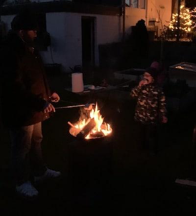 Lagerfeuerstimmung im Garten